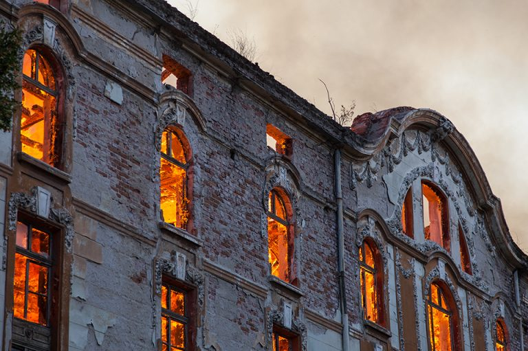 Bulgarian Cultural History on Fire