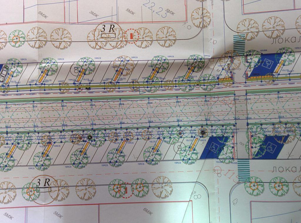 Проект на Столичната община за предстоящата реконструкция на бул. Македония