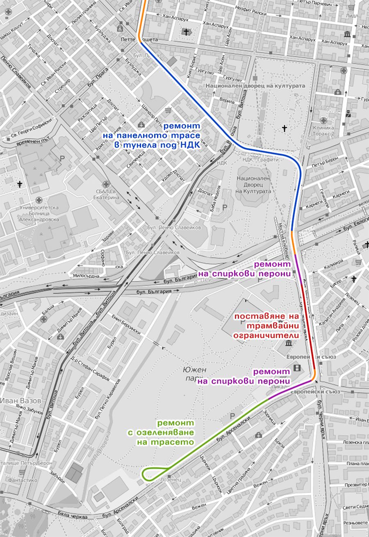 Какъв потенциал има трамвайното трасе до ж.к. Лозенец?