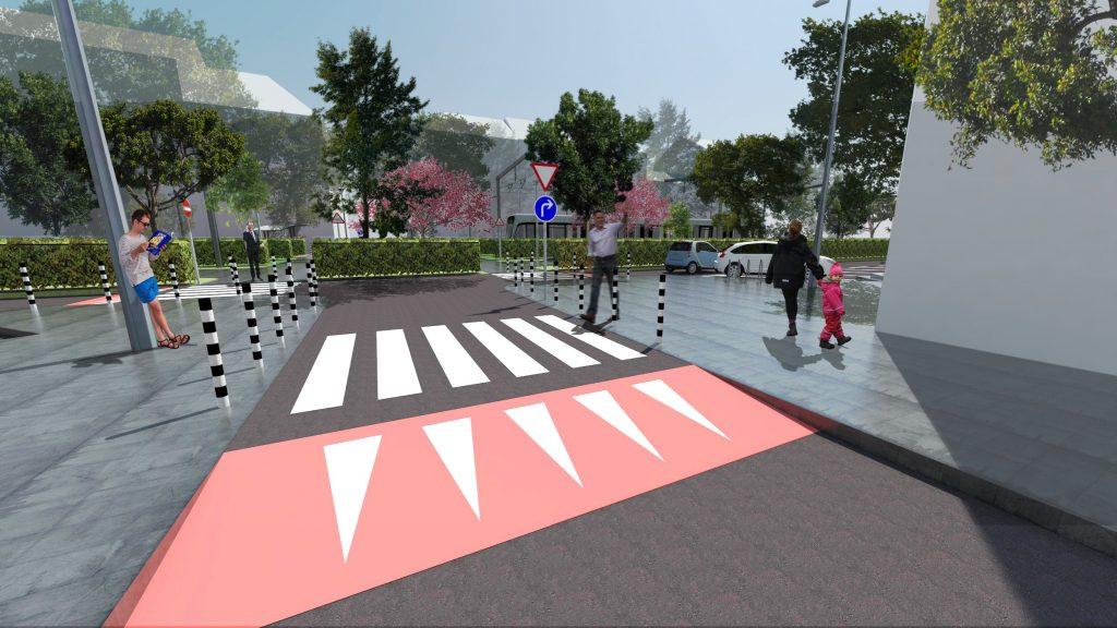 парк Македония - повдигнати кръстовища