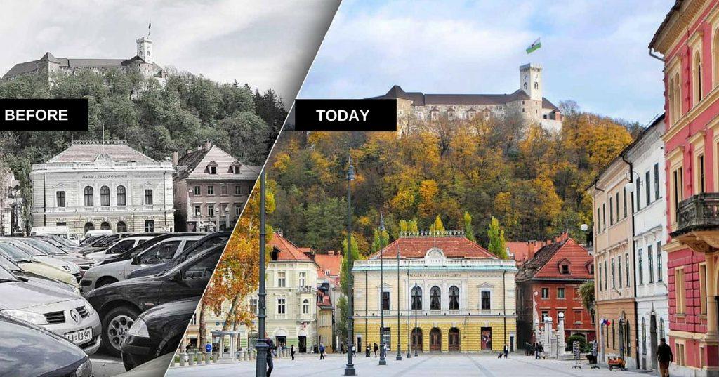 Любляна - преди и сега