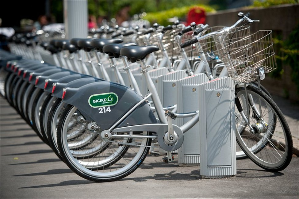 Система за велосипеди под наем