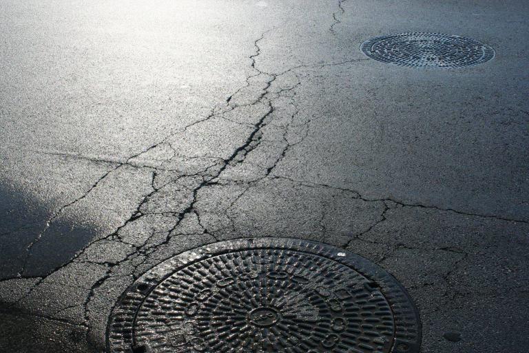 Renovated Tsarigradsko Boulevard Falling Apart