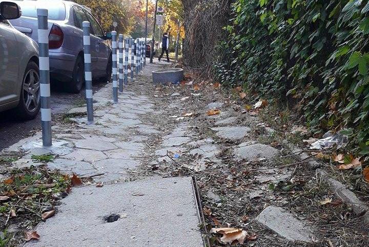 Как да решим проблема със Софийските тротоари?