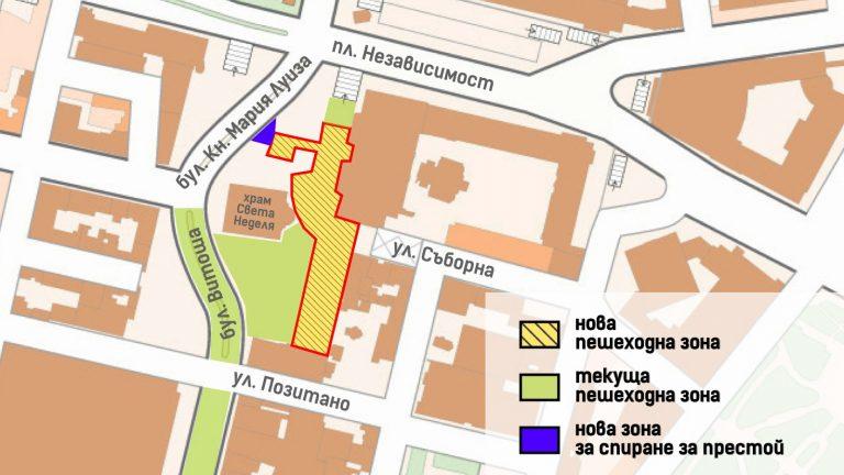 ДОКЛАД – Площад Св. Неделя да бъде изцяло пешеходен