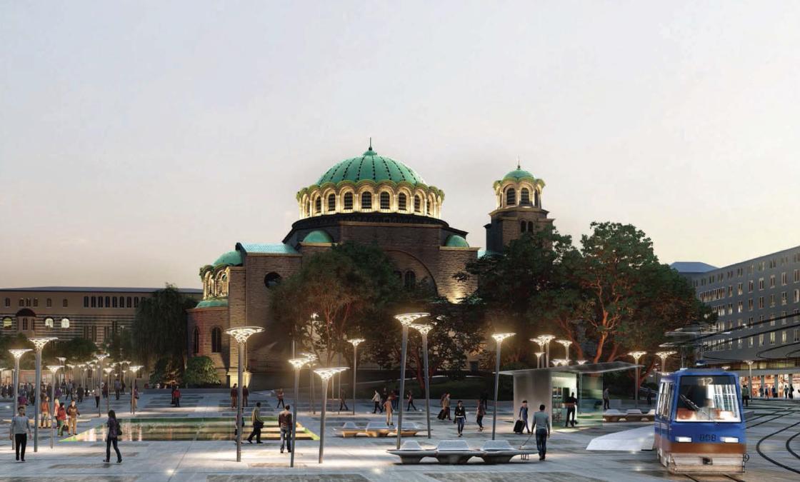 """СТАНОВИЩЕ: Идейно решение за обновяване на площад """"Св. Неделя"""""""